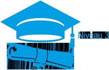 Icône diplôme Niveau 3