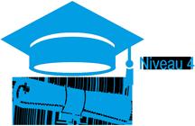Icône diplôme Niveau 4