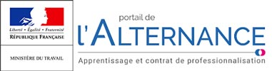 Logo Portail de l'alternance